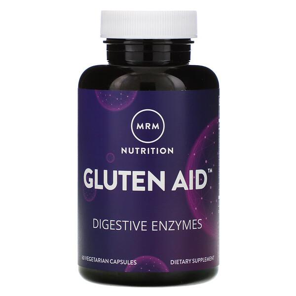 MRM, Nutrition, Gluten Aid, 60 Vegetarian Capsules