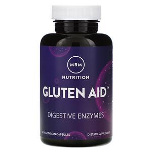 МРМ, Nutrition, Gluten Aid, 60 Vegetarian Capsules отзывы