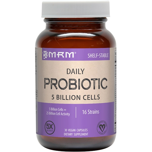 Daily Probiotic, 30 Vegan Capsules