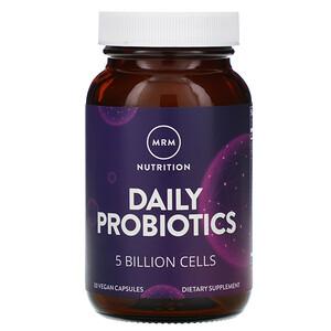 МРМ, Nutrition, Daily Probiotics, 5 Billion Cells, 30 Vegan Capsules отзывы покупателей