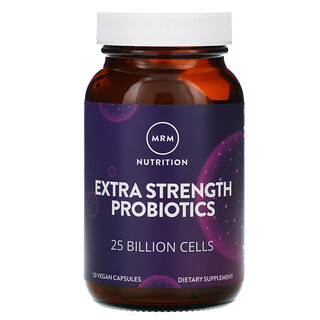 MRM, Nutrition, Extra Strength Probiotics, 25 Billion Cells, 30 Vegan Capsules