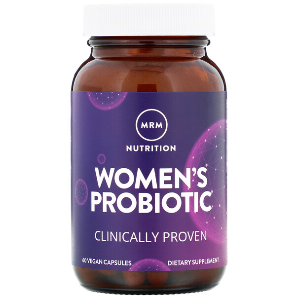 Women's Probiotic, 60 Vegan Capsules