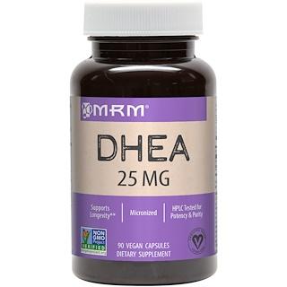 MRM, DHEA، مقدار 25 ملغ، 90 كبسولة نباتية