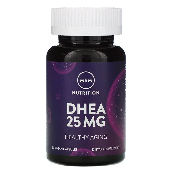 Nutrition, DHEA, 25 mg, 90 Vegan Capsules