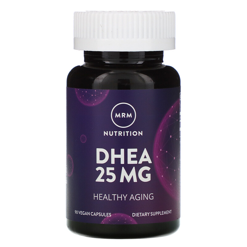MRM, Nutrition, DHEA, 25 mg, 90 Vegan Capsules