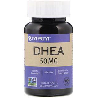 MRM, DHEA, 50 mg, 90 gélules véganes