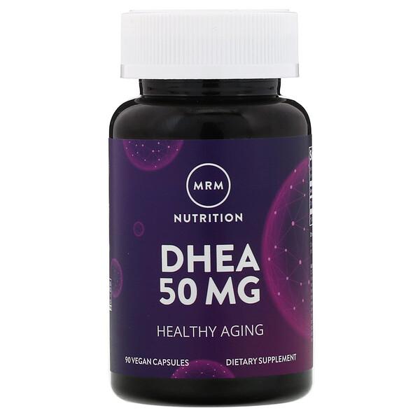 DHEA, 50 mg, 90 Vegan Capsules