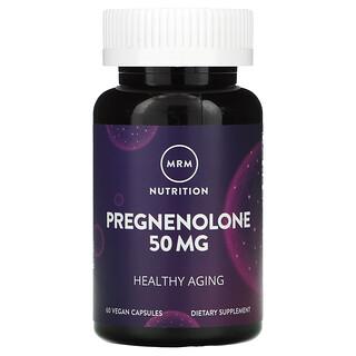 MRM, Pregnenolone, 50 mg, 60 Vegan Capsules