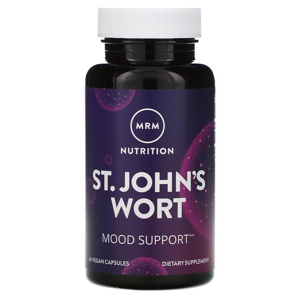 Nutrition, St. John's Wort, 60 Vegan Capsules