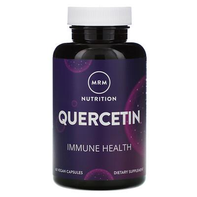MRM Nutrition, кверцетин, 60 веганских капсул
