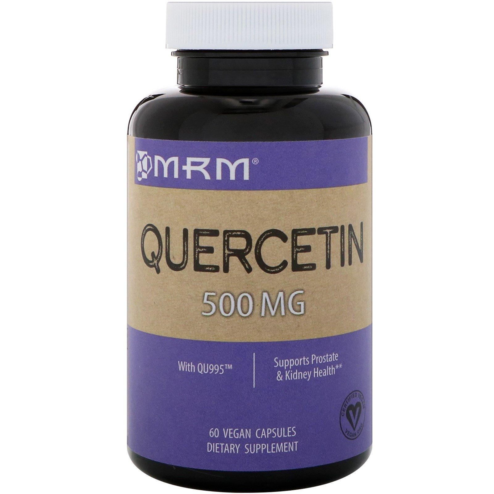 MRM, Кверцетин, 500 мг, 60 капсул в растительной оболочке