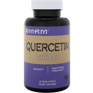 MRM, Quercetin, 500 mg, 60 Vegan Capsules