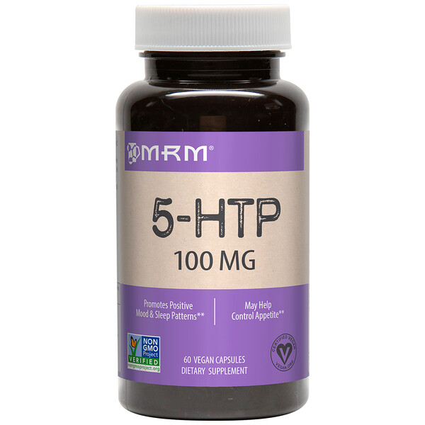 MRM, 5-HTP, 100 mg, 60 Vegan Capsules (Discontinued Item)