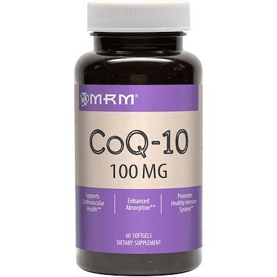 Купить CoQ-10, 100 мг, 60 гелевых капсул