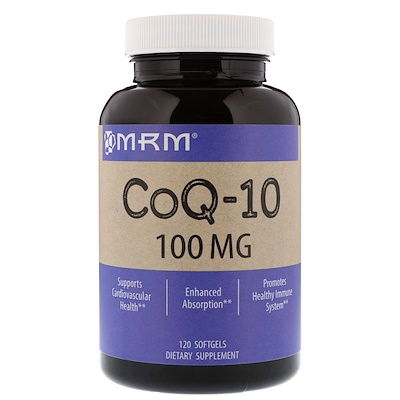 Купить Коэнзим Q-10, 100 мг, 120 желатиновых капсул
