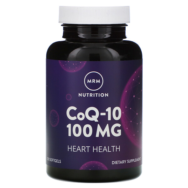 Nutrition, CoQ-10, 100 mg, 120 Softgels