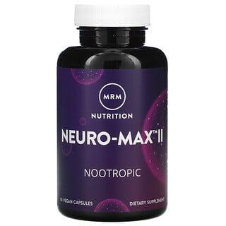 MRM, Neuro-MaxII, 60cápsulas veganas