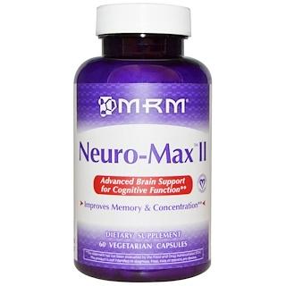 MRM, Neuro-Max II, 60 Vegan Capsules