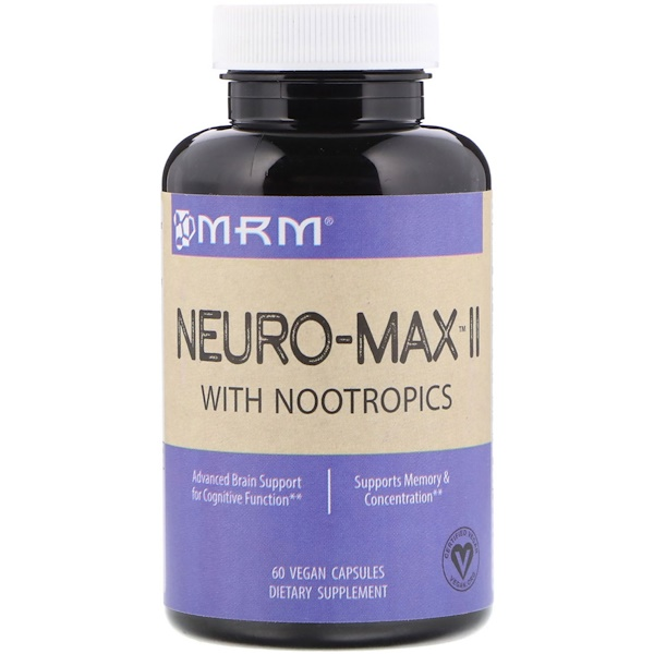 MRM, ニューロマックス II, ビーガンカプセル60錠