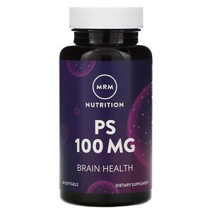 МРМ, Nutrition, PS, 100 mg, 60 Softgels отзывы