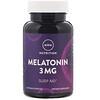 MRM, Nutrition, Melatonin, 3 mg, 60 Vegan Capsules