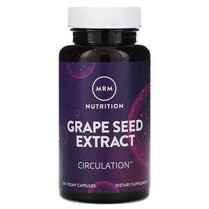 МРМ, Nutrition, Grape Seed Extract, 100 Vegan Capsules отзывы покупателей