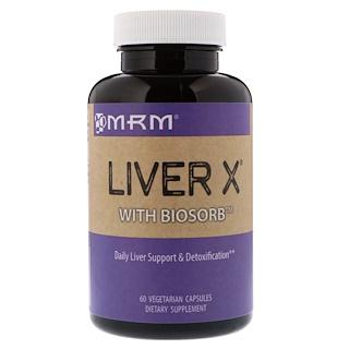 MRM, Liver X with BioSorb, 60 Vegetarian Capsules