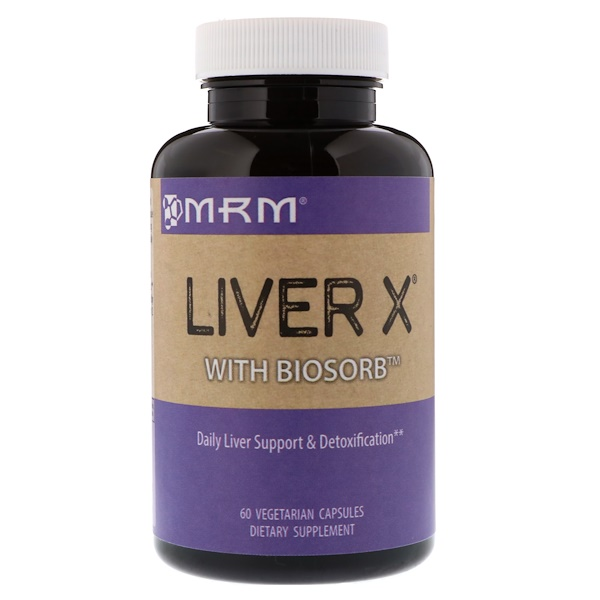 Liver X with BioSorb, 60 Vegetarian Capsules