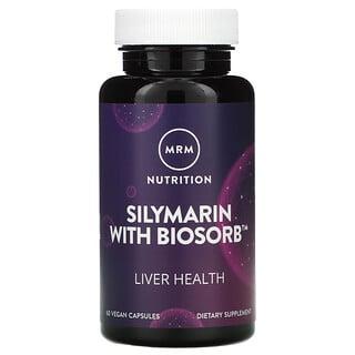 MRM, Silymarin with Biosorb, 60 Vegan Capsules