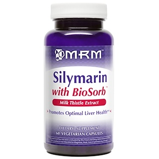 MRM, Silymarin with BioSorb, 60 Veggie Caps