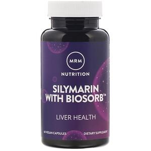 МРМ, Nutrition, Silymarin with Biosorb, 60 Vegan Capsules отзывы покупателей