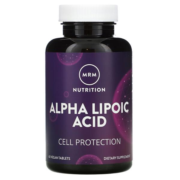 Alpha Lipoic Acid, 60 Vegan Tablets