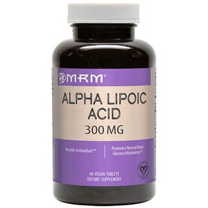 МРМ, Alpha Lipoic Acid, 300 mg, 60 Vegan Tablets отзывы покупателей