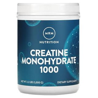 MRM, クレアチン・モノハイドレート1000、2.2 ポンド(1000 g)