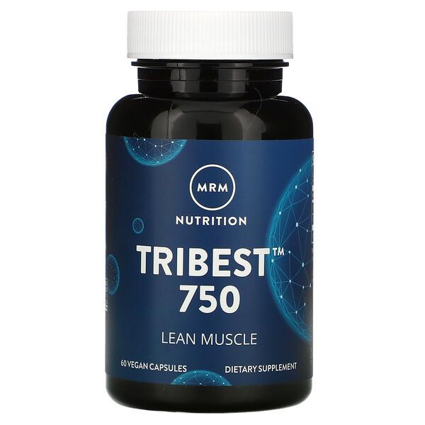 Tribest(トライベスト)750、ビーガンカプセル60粒