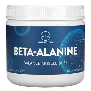 MRM, Beta-Alanine, Balance Muscle pH, 7.05 oz (200 g)