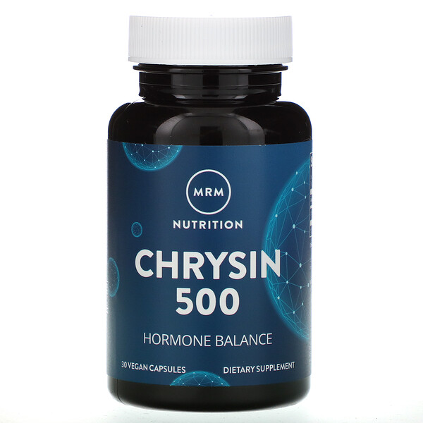 MRM, Nutrition, Chrysin 500, 30 Vegan Capsules