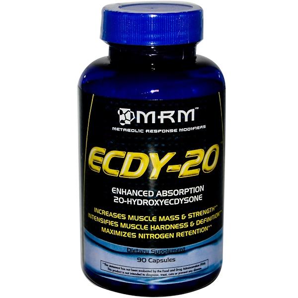 MRM, ECDY-20, 90 Capsules (Discontinued Item)