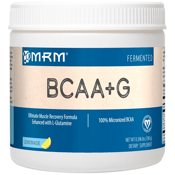 MRM, BCAA+G 1000, Lemonade, 0.396 lbs (180 g) (Discontinued Item)
