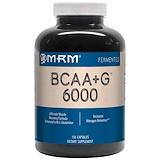 Отзывы о MRM, BCAA+G 6000, 150 капсул
