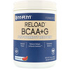 MRM, BCAA+ G Reload, Post-Workout Recovery, Watermelon, 1.85 lbs (840 g)