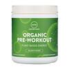 MRM, Suplemento pre-entreno orgánico, Fusión isleña, 8.5 oz (240 g)