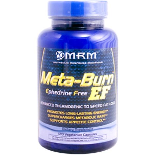 MRM, Meta-Burn EF (Ephedrine Free), 120 Veggie Caps (Discontinued Item)