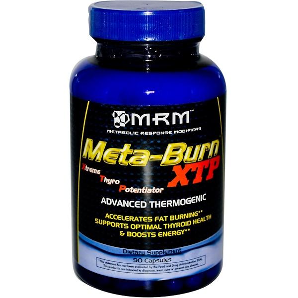 MRM, Meta-Burn XTP (Xtreme Thyro Potentiator), 90 Capsules (Discontinued Item)