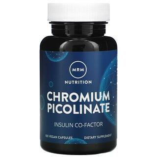 MRM, Nutrition, Chromium Picolinate, 100 Vegan Capsules