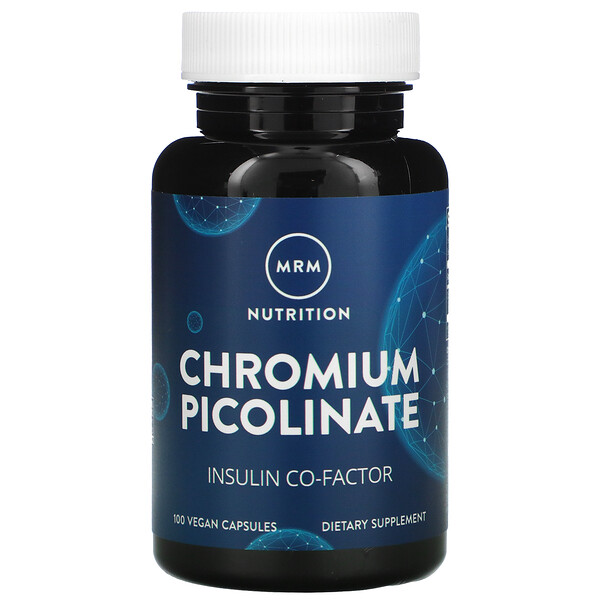MRM, Nutrition, Chromium Picolinate, 100 Vegan Capsules