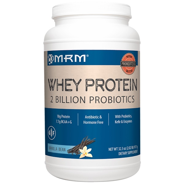MRM, Natural Whey, Rich Vanilla, 2.02 lbs (923 g)