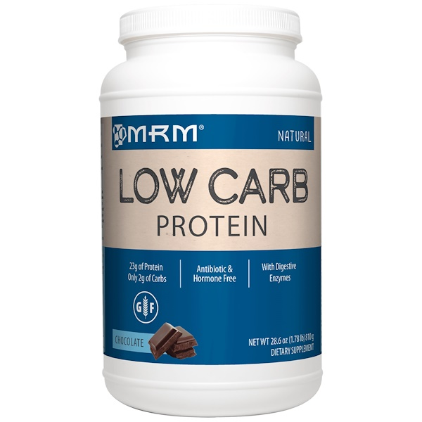 MRM, Low Carb Protein, Chocolate, 1.78 lbs (810 g) (Discontinued Item)