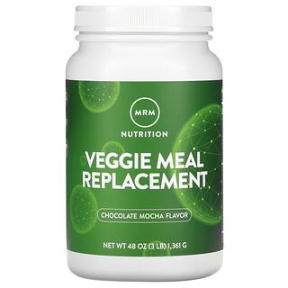 MRM, Reemplazo de comida vegetariana suave, moca de chocolate, 3 lb (1361 g)