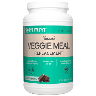 MRM, Veggie Meal Replacement, Chocolate Mocha, 3 lbs (1,361 g)